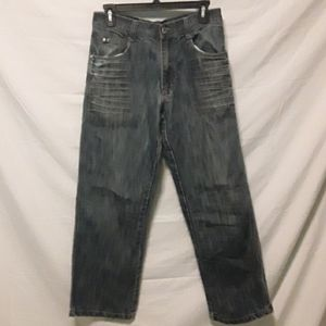 Men's South Pole Distressed Denim Jeans Size 30/30